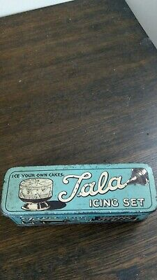 Vintage Tala Icing Kit In Original Tin