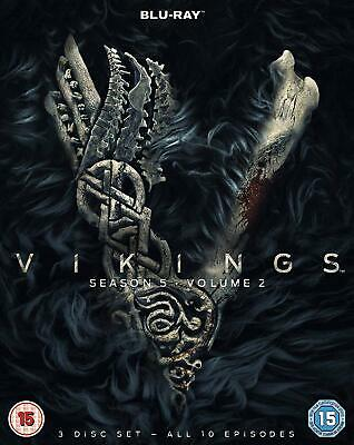 Vikings – Season 5 Volume 2 Blu-ray Action Drama History NEW