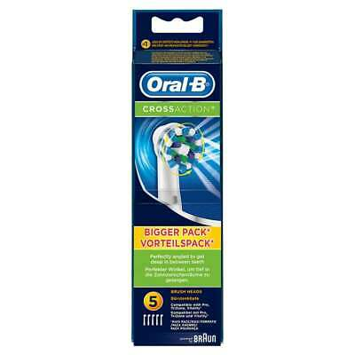 Cabezales de recambio Oral-B CrossAction para cepillo eléctrico, set 5 unidades