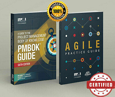 PMI PMBOK Guide 6th Edition New+ Agile Practice Guide - 🌟 PDF High Quality 🌟