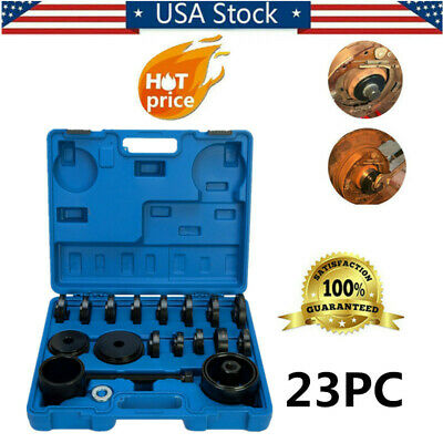 23pc Front Wheel Drive Bearing Press Tool Adapter Puller Pulley Set