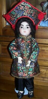 Artist Made Oriental French Bru - Beautiful Doll & Costume