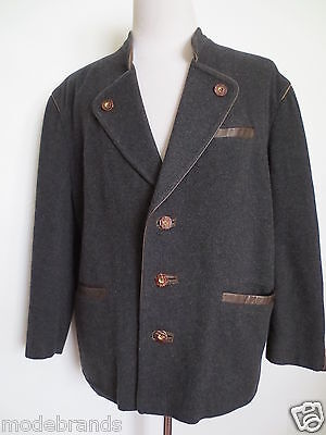 Traditional Jacket Cardigan Incognito C&a 24 Wool Cashmere Anthracite Braun / Tr