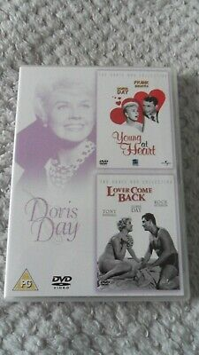 Young At Heart / Lover Come Back 2 disc Dvd used R2. Doris Day, Rock Hudson