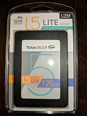 """Team Group L5 LITE 1TB 7mm 2.5/"""" Solid State Drive SATA III 6Gbps T2535T001 SSD"""