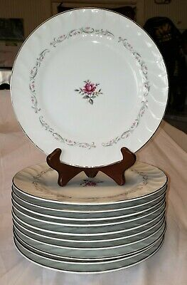 Dinner Plate Royal Swirl by FINE CHINA OF JAPAN