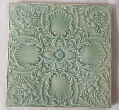 Stunning And Elegant Minton 6 Inch 19Th Century Tile .8 Available, Gorgeous Tone