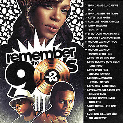 BIG MIKE - REMEMBER THE 90's VOL. 2 (MIX CD) Tevin Campbell,Michael Jackson, SWV