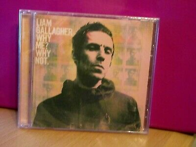 Liam Gallagher   Why Me? Why Not Cd   Brand New & Cellophane Sealed