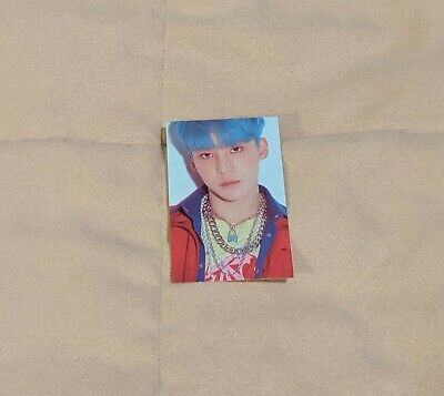 ATEEZ YUNHO Signed MMT Treasure EP3 Illusion Ver Official Photo Card