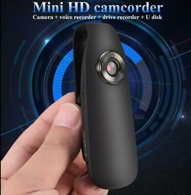 HD 1080P Mini Camcorder Dash Cam Body Motorcycle Bike Motion Action Video Camera