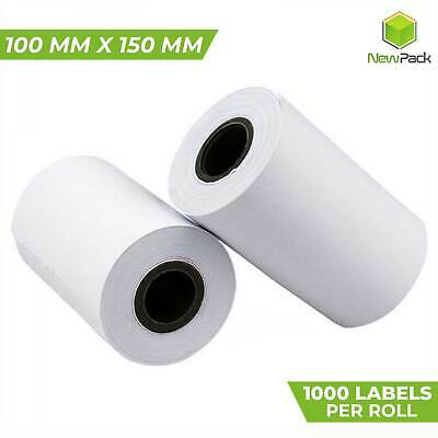 1000x Direct Thermal Shipping Label 100X150mm 4x6 for Fastway Startrack AusPOST