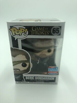 Funko POP! Game of Thrones Beric Dondarrion #65 NYCC 2018 Convention Exclusive