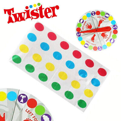 Funny Twister The Classic Game Body Game W/ 2 More Moves Family Party Games NEW