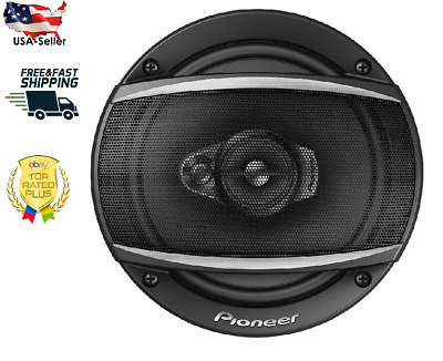 """Pioneer TS-A652F 6-1//2/"""" 3 Way Coaxial Speaker System Pair USED☝ PRICE"""