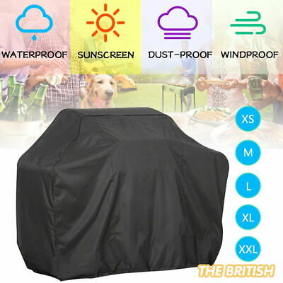 XS/M/L BBQ Cover Heavy Duty Waterproof Rain Barbeque Grill Garden Protector UK