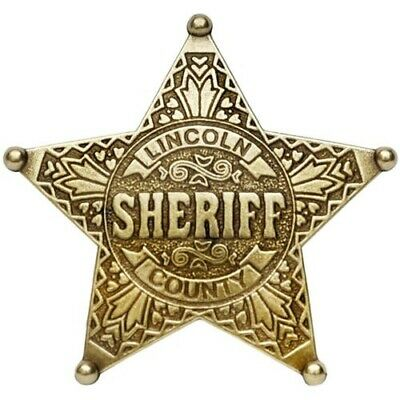 Lincoln County Sheriff badge--Novelty