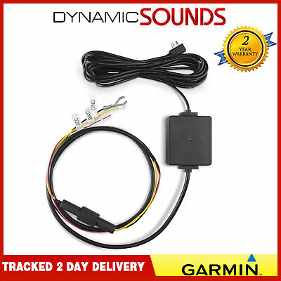 Garmin Parking Mode Hard Wire Power Cable For Dash Cam 45-46-55-56-65W-66W-Mini