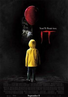 It Chapter One  - original DS movie poster 27x40 D/S  2017 Stephen King