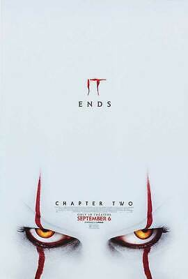 It Chapter Two -2 - original DS movie poster 27x40 D/S FINAL - 2019 Stephen King