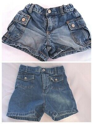 2 pair boys 5 4t shorts Old Navy Faded Glory Denim jeans summer school clothes
