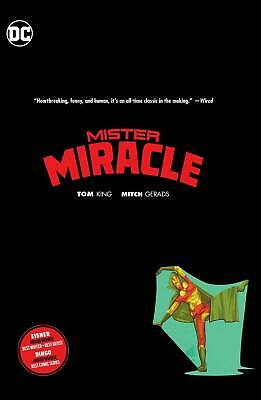 MISTER MIRACLE by TOM KING HARDCOVER DC Comics Collects #1-12 HC