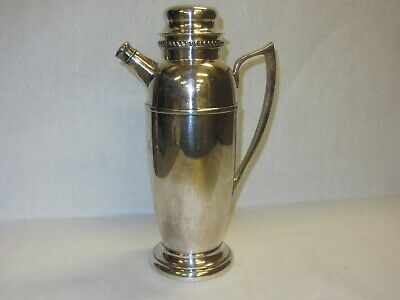 Vintage Silverplate Coffee Pot Teapot Andover Hall Triple Plate MA USA EPNS