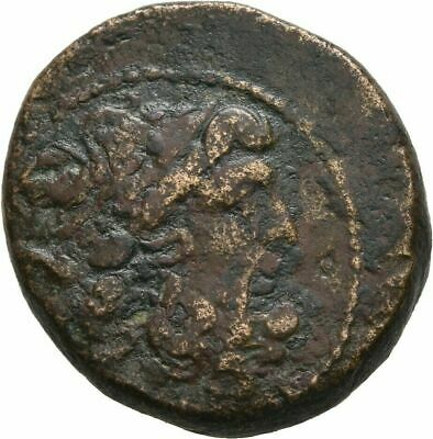 Ancient Greece 1 Cent BC SYRIA SELEUCIS PIERIA ANTIOCH ZEUS THRONE #3