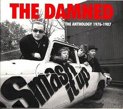 THE DAMNED -Smash It Up: the Anthology 1976-1987 (2-CD) Best Of/Greatest Hits