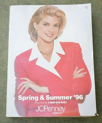 Vintage JC Penney Catalog SPRING & SUMMER 1996 Collectible Department Store Book