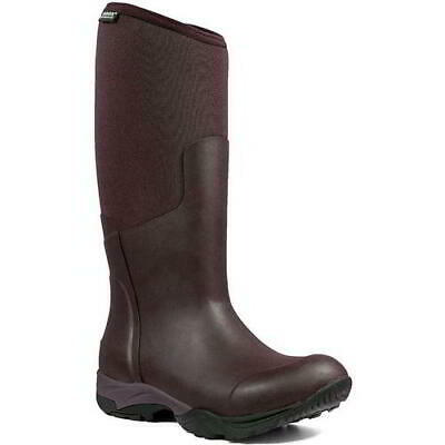 Bogs Essential Light Womens Purple Neoprene Wellies Wellington Boots Size 4-8