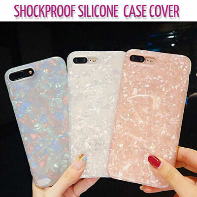 Case for iPhone XR XS MAX 8 7 6 6S Plus ShockProof Marble Phone Cover Silicone