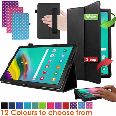 """for Samsung Galaxy Tab S5e 10.5"""" SM-T720 T725 Leather Flip Case Stand Cover"""