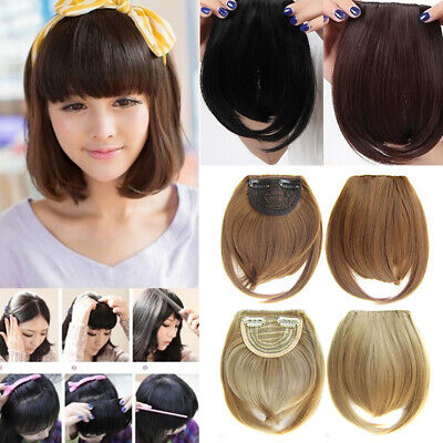 Women Ladies Real Natural Short Straight Hair Wigs Style Cosplay Full Wig UK