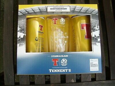 Tennent's Limited Edition Scottish Rugby Gift Pack