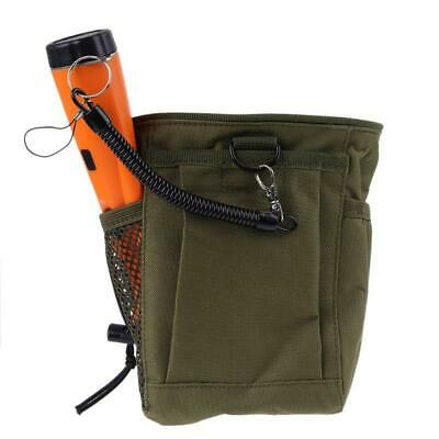 Metal Detector Pouch Bag Digger Supply Waist Detecting Luck Find Recovery Bag