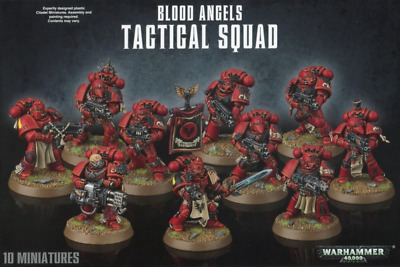 Warhammer 40,000 Blood Angels Tactical Squad Bits