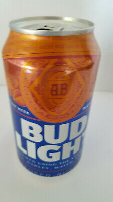 Bud Light *Can # 667439 * 2019 12 Oz Can  *Empty*Bottom Open