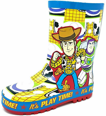 Boys Toy Story Wellies Snow Rain Wellington Boots Size 6-12 Girls Kids Childrens