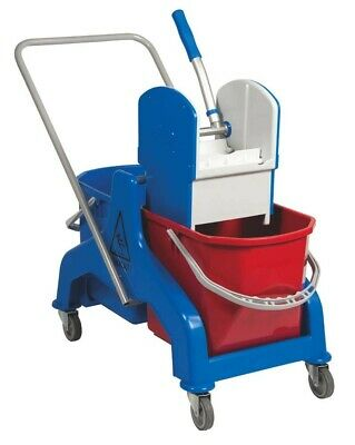 Ertumop Cleaning trolley (Double) with press