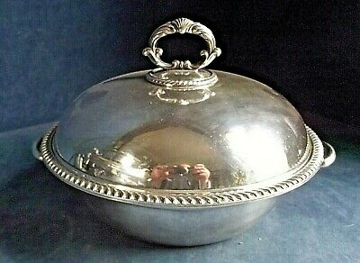 "SUPERB Ornate 11"" ~ SILVER Plated ~ SERVING DISH ~ c1900 by Hukin & Heath"