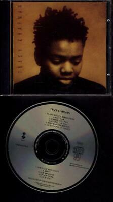 TRACY CHAPMAN 1988 Debut CD GERMANY USA fast car FREE WW SHIPPING