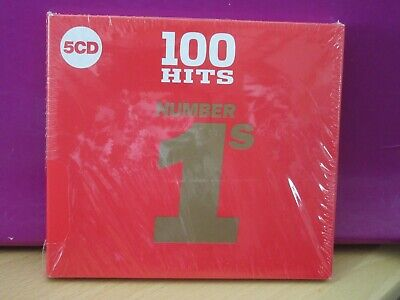 100 Hits   Number 1'S    (5 Cd Pack)   Brand New & Cellophane Sealed