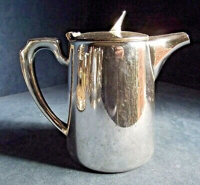 SUPERB ~ SILVER Plated ~ ART DECO ~ TEAPOT ~ c1935 by Walker & Hall
