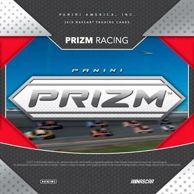 2019 Prizm (Panini) SILVER NASCAR Cards Pick From List (Base Inserts or Autos)