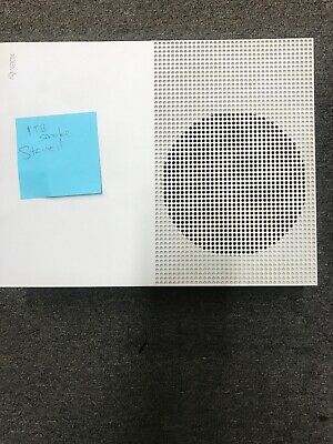 Microsoft Xbox One S 1TB 1 TB Console - White Console Only Working.