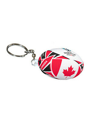 RWC Rugby World Cup 2019 Official Goods Replica Keyring (Gilbert) CANADA