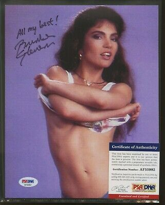 Brinke Stevens Scream Queen Signed 8x10 Photo AUTO Autograph PSA/DNA COA