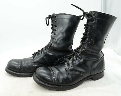 CORCORAN USA Men's Sz 10.5 Leather Military Tactical Jump Work Laced Boots