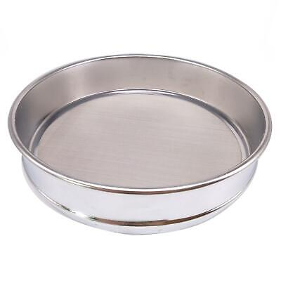 1pc 100 Mesh 0.15mm Aperture Lab Standard Test Sieve Stainless Steel Dia 200mm